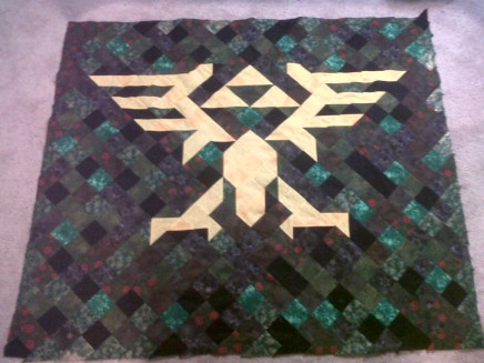 Zelda Quilt Top Finished
