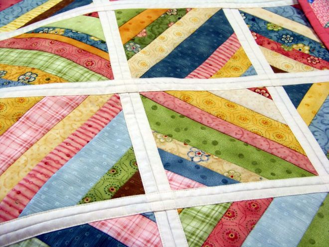 Quilt as you go example