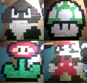 4 mario blocks