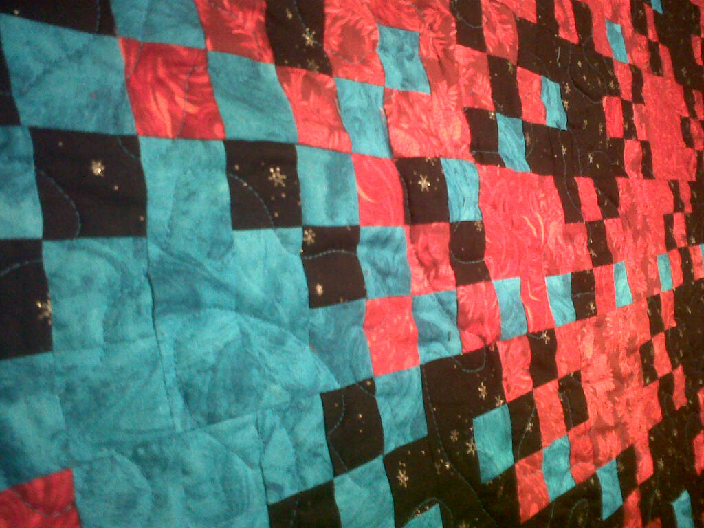 Frozen Star Quilt Finished Eric The Quilter